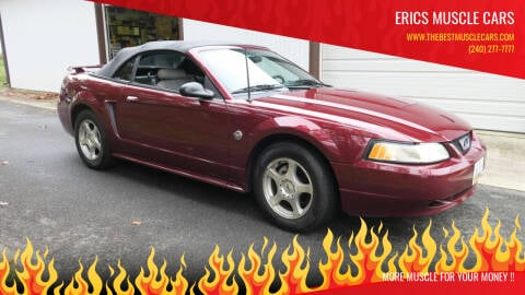 2004 Ford Mustang for sale at Erics Muscle Cars in Clarksburg MD