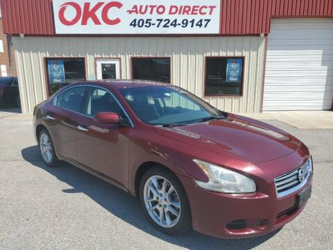 2012 Nissan Maxima for sale at OKC Auto Direct, LLC in Oklahoma City OK