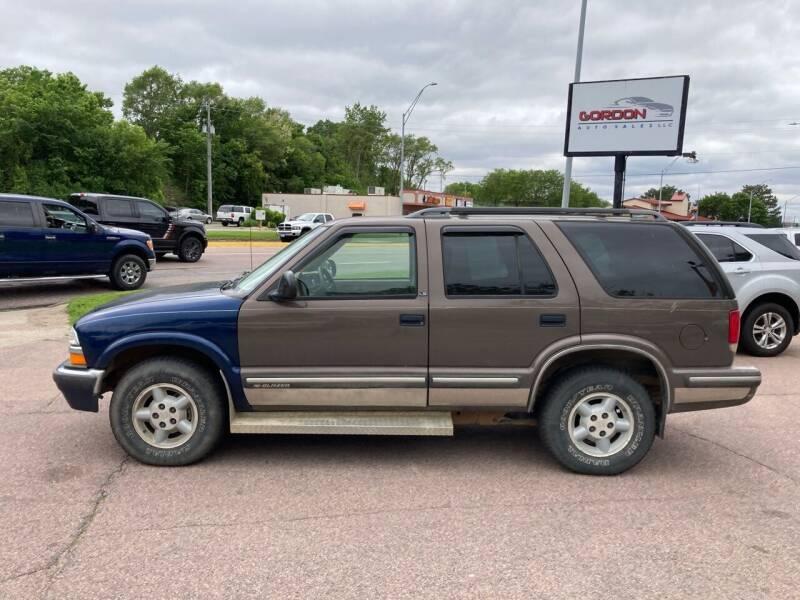 1998 Chevrolet Blazer for sale at Gordon Auto Sales LLC in Sioux City IA
