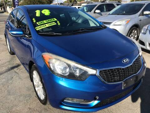 2014 Kia Forte for sale at CAR GENERATION CENTER, INC. in Los Angeles CA