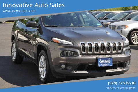 2014 Jeep Cherokee for sale at Innovative Auto Sales in North Hampton NH