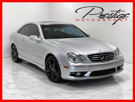 2005 Mercedes-Benz CLK for sale at Prestige Motorsport in Rancho Cordova CA