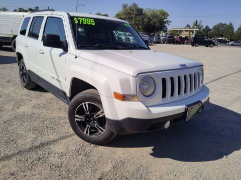 2013 Jeep Patriot for sale at Canyon View Auto Sales in Cedar City UT