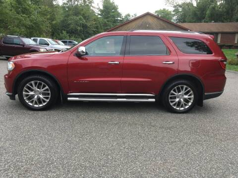 2014 Dodge Durango for sale at Lou Rivers Used Cars in Palmer MA