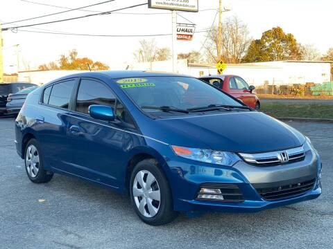 2013 Honda Insight for sale at MetroWest Auto Sales in Worcester MA