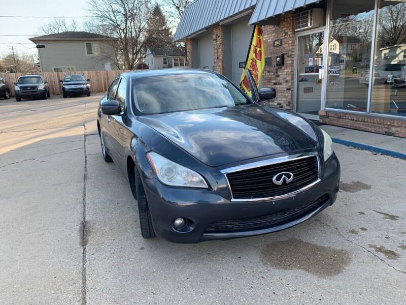 2011 Infiniti M37 for sale at LOT 51 AUTO SALES in Madison WI