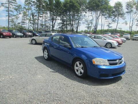2013 Dodge Avenger for sale at Small Town Auto Sales in Hazleton PA