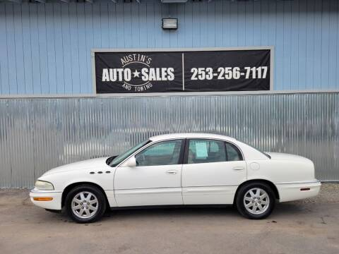 2005 Buick Park Avenue for sale at Austin's Auto Sales in Edgewood WA
