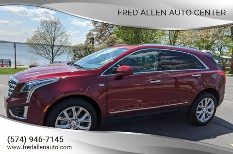 2017 Cadillac XT5 for sale at Fred Allen Auto Center in Winamac IN