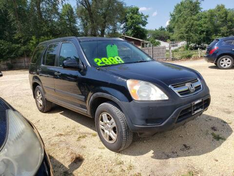 2002 Honda CR-V for sale at Northwoods Auto & Truck Sales in Machesney Park IL