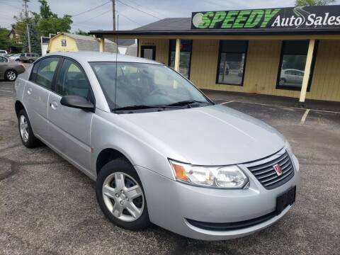 2007 Saturn Ion for sale at speedy auto sales in Indianapolis IN