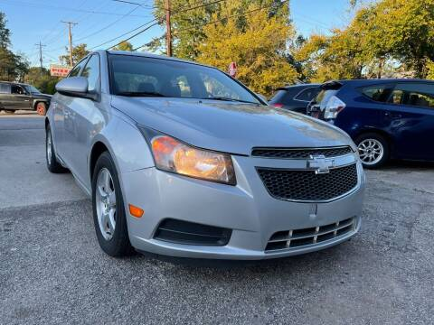2013 Chevrolet Cruze for sale at King Louis Auto Sales in Louisville KY