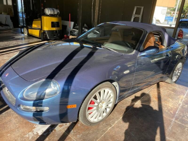 2002 Maserati Spyder for sale at Exotic Motors in Redmond WA