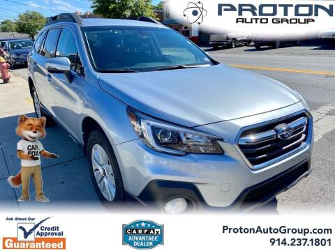 2018 Subaru Outback for sale at Proton Auto Group in Yonkers NY
