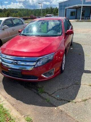 2012 Ford Fusion for sale at Lighthouse Truck and Auto LLC in Dillwyn VA