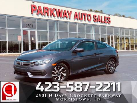 2017 Honda Civic for sale at Parkway Auto Sales, Inc. in Morristown TN