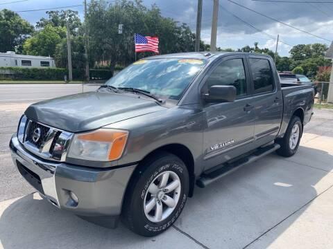 2014 Nissan Titan for sale at Galaxy Auto Service, Inc. in Orlando FL