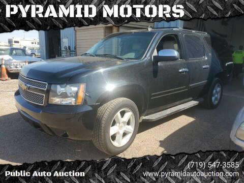 2007 Chevrolet Suburban for sale at PYRAMID MOTORS - Pueblo Lot in Pueblo CO