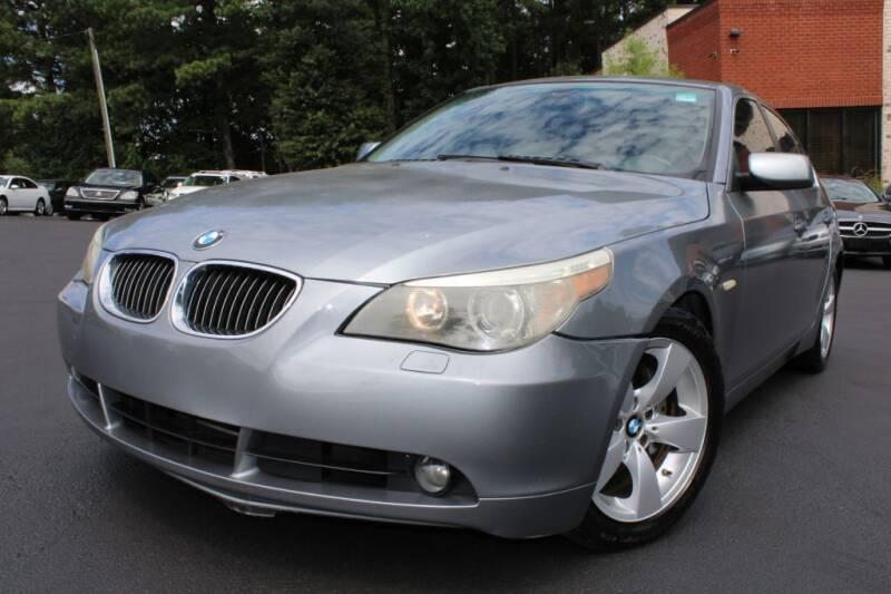 2007 BMW 5 Series for sale at Atlanta Unique Auto Sales in Norcross GA