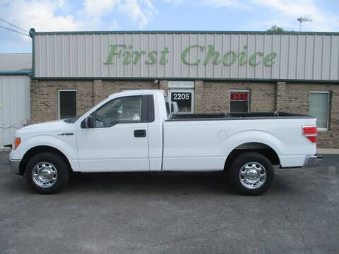 2014 Ford F-150 for sale at First Choice Auto in Greenville SC