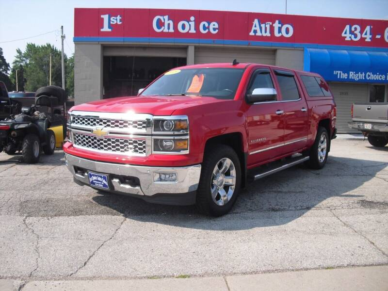 2015 Chevrolet Silverado 1500 for sale at 1st Choice Auto Inc in Green Bay WI