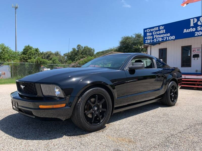 2008 Ford Mustang for sale at P & A AUTO SALES in Houston TX