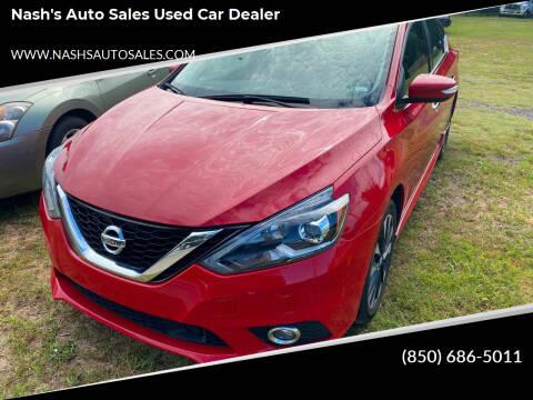 2019 Nissan Sentra for sale at Nash's Auto Sales Used Car Dealer in Milton FL