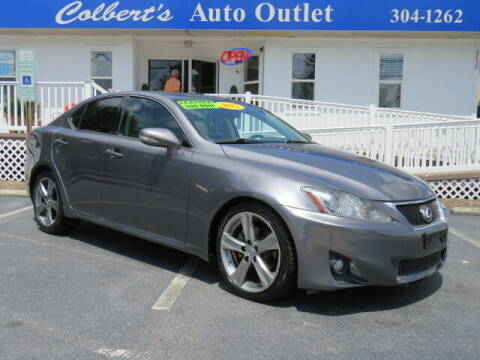 2012 Lexus IS 250 for sale at Colbert's Auto Outlet in Hickory NC