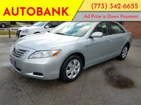 2007 Toyota Camry for sale at AutoBank in Chicago IL