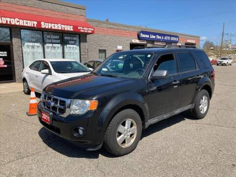 2011 Ford Escape for sale at AutoCredit SuperStore in Lowell MA