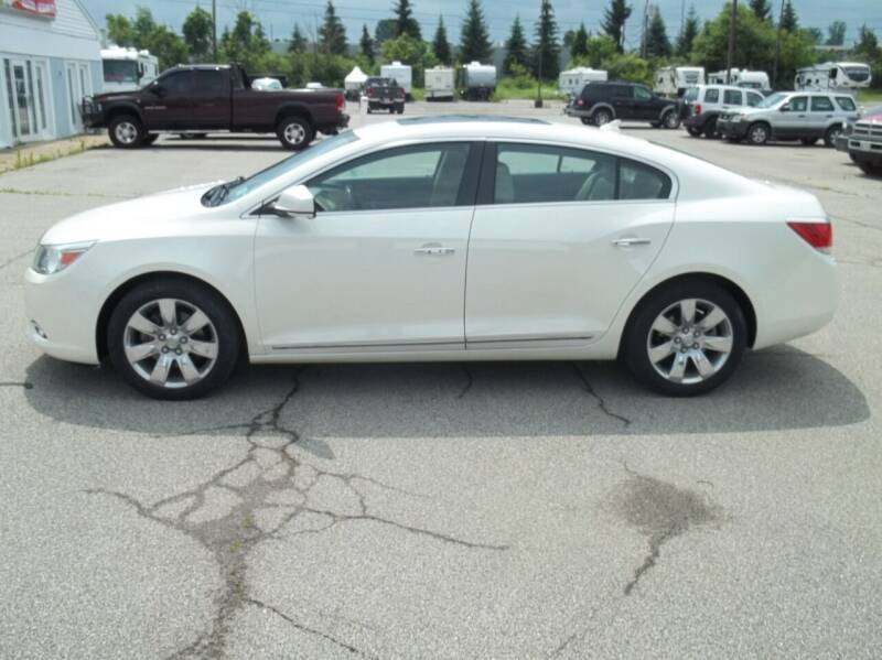 2012 Buick LaCrosse for sale at Rt. 44 Auto Sales in Chardon OH