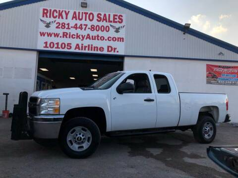2013 Chevrolet Silverado 2500HD for sale at Ricky Auto Sales in Houston TX