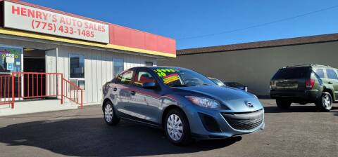 2010 Mazda MAZDA3 for sale at Henry's Autosales, LLC in Reno NV