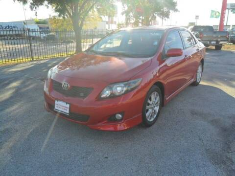 2010 Toyota Corolla for sale at Talisman Motor City in Houston TX