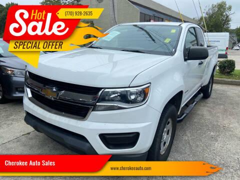 2015 Chevrolet Colorado for sale at Cherokee Auto Sales in Acworth GA