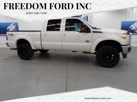 2016 Ford F-350 Super Duty for sale at Freedom Ford Inc in Gunnison UT
