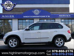2009 BMW X5 for sale at Highline Group Motorsports in Lowell MA