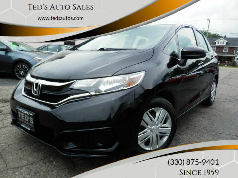 2018 Honda Fit for sale at Ted's Auto Sales in Louisville OH