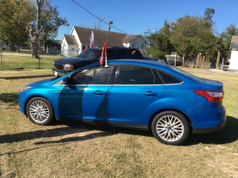 2012 Ford Focus for sale at Spartan Auto Sales in Beaumont TX