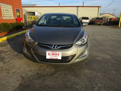 2014 Hyundai Elantra for sale at X Way Auto Sales Inc in Gary IN