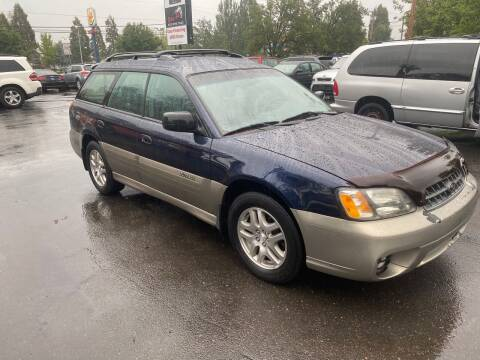 2004 Subaru Outback for sale at Blue Line Auto Group in Portland OR