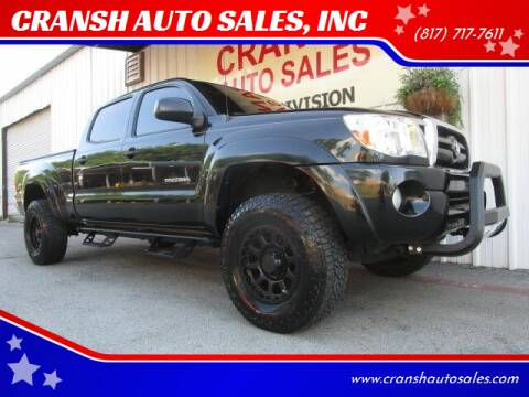2008 Toyota Tacoma for sale at CRANSH AUTO SALES, INC in Arlington TX