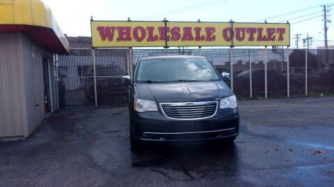2012 Chrysler Town and Country for sale at LONG BROTHERS CAR COMPANY in Cleveland OH