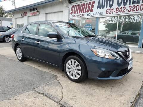 2017 Nissan Sentra for sale at Sunrise Auto Outlet in Amityville NY