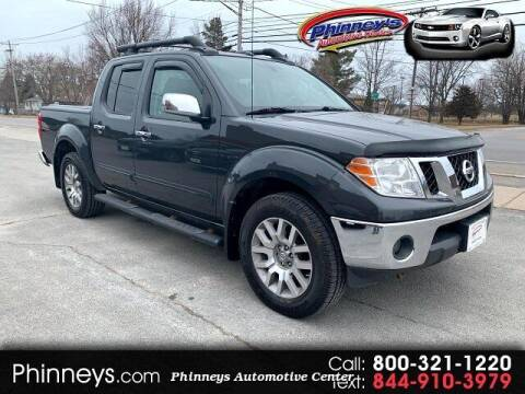 2012 Nissan Frontier for sale at Phinney's Automotive Center in Clayton NY