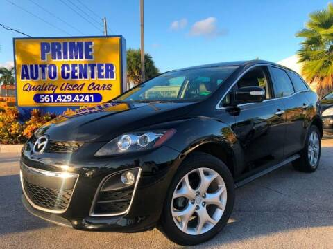 2010 Mazda CX-7 for sale at PRIME AUTO CENTER in Palm Springs FL