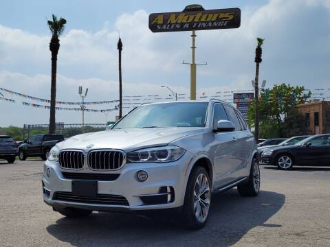 2015 BMW X5 for sale at A MOTORS SALES AND FINANCE in San Antonio TX