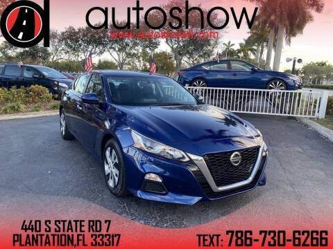2019 Nissan Altima for sale at AUTOSHOW SALES & SERVICE in Plantation FL