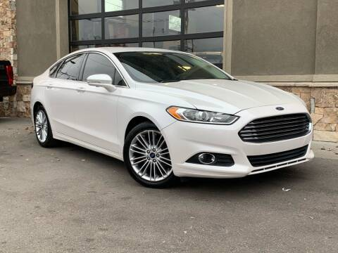 2015 Ford Fusion for sale at Unlimited Auto Sales in Salt Lake City UT
