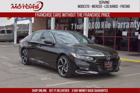2020 Honda Accord for sale at Choice Motors in Merced CA